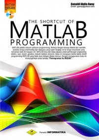 Image of The Shortcut of MATLAB Programming